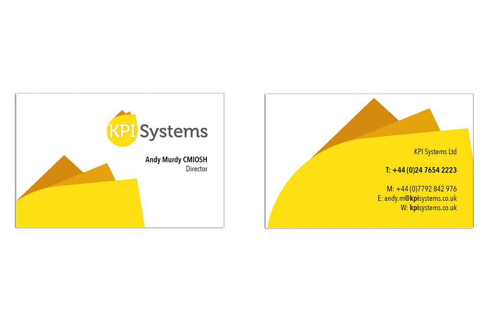 KPI Systems business Cards